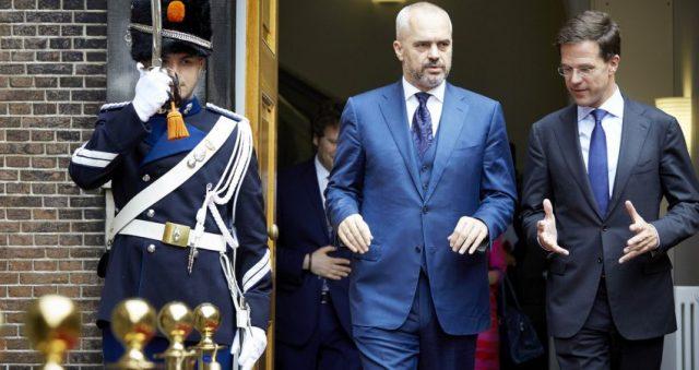 Kryeministri Edi Rama me homologun holandez Mark Rutte